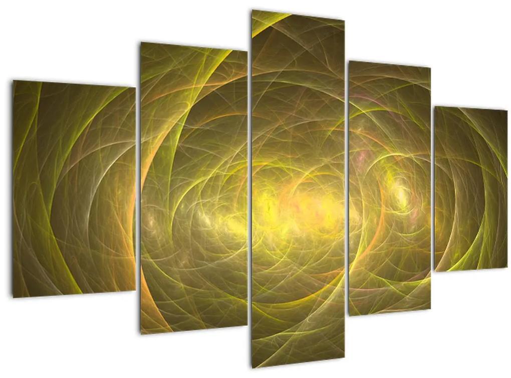 Modern absztrakt kép (150x105 cm)