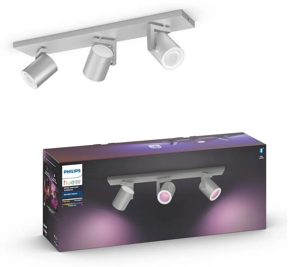 Philips Philips 50623/48/P7 - LED RGB Spotlámpa HUE ARGENA 3xGU10/5,7W/230V P3126