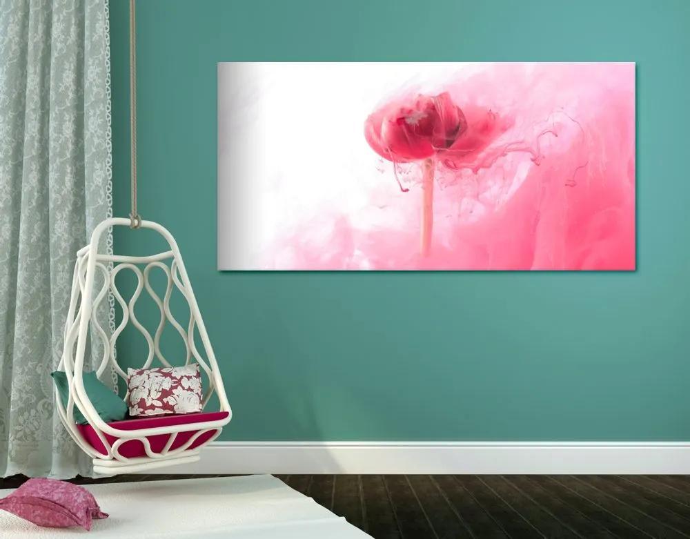 Kép rózsaszín virág érdekes kivitelben