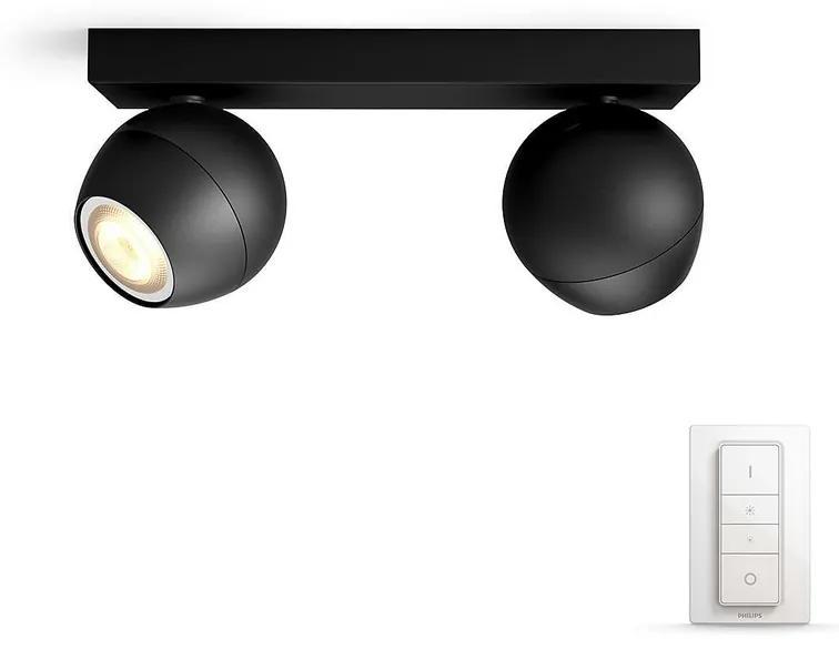 Philips Philips 50472/30/P7 - LED Szabályozható spotlámpa HUE BUCKRAM 2xGU10/5,5W P2391