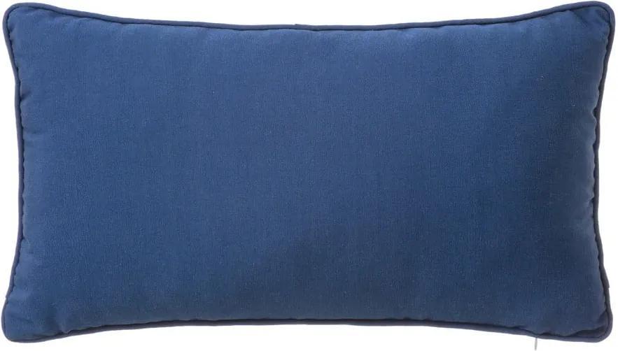Love kék díszpárna, 30 x 50 cm - Unimasa