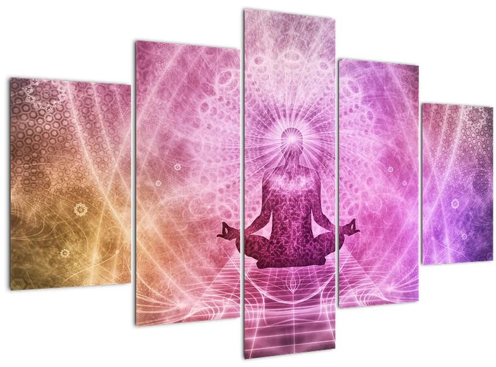 Meditáció képe (150x105 cm)