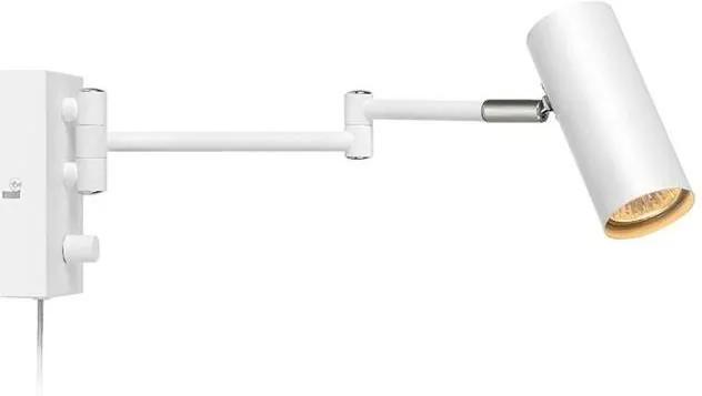 Markslöjd Markslöjd 107538 - Szabályozható fali spotlámpa TORINO 1xGU10/12W/230V ML0514
