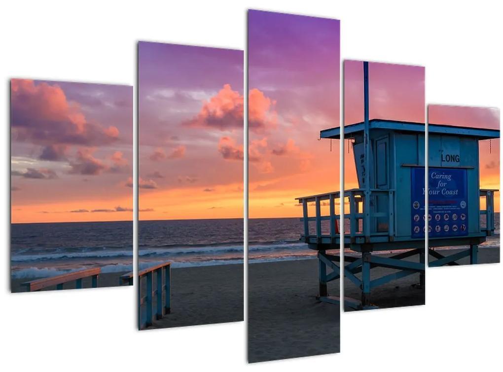 Kép a Santa Monicai strandtól (150x105 cm)