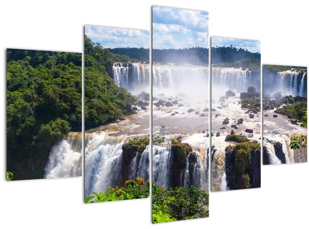 Iguassu vízesés képe (150x105 cm)
