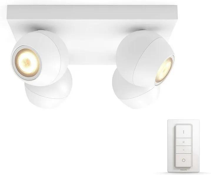 Philips Philips 50474/31/P7 - LED Szabályozható spotlámpa HUE BUCKRAM 4xGU10/5,5W P2388