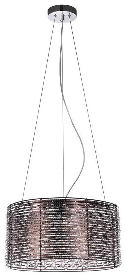 ITALUX ITALUX MDM2131/3 BR - Csillár zsinóron ALPIO 3xE14/40W/230V IT0109