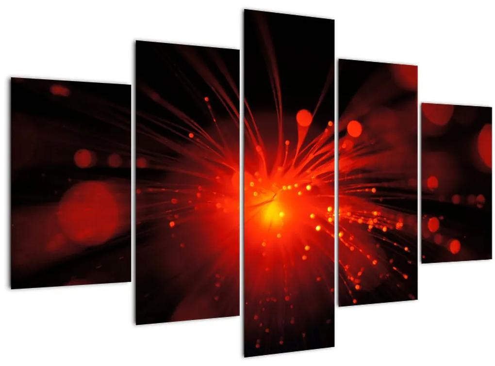 Egy szikrázó absztrakció képe (150x105 cm)