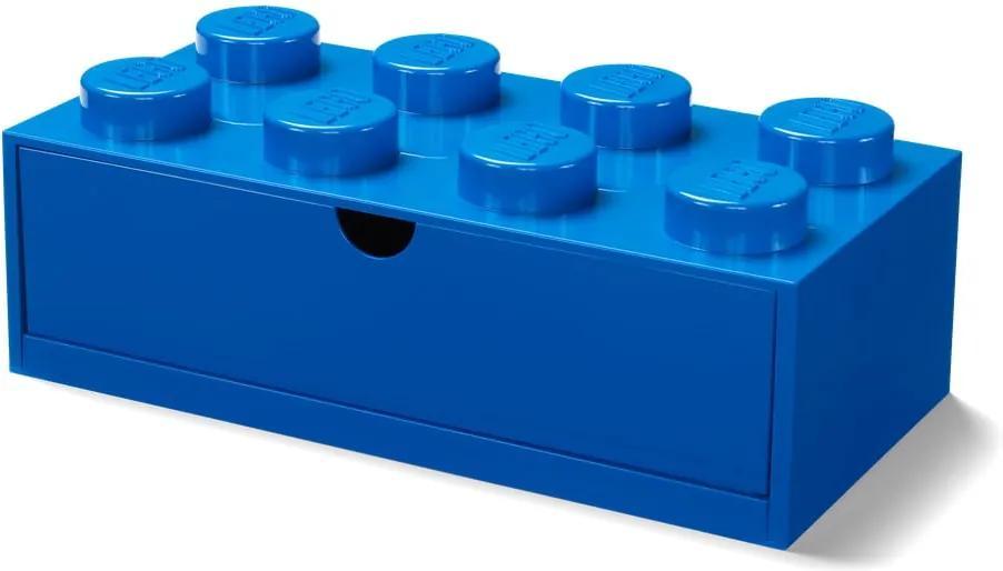 Kék, fiókos tárolódoboz, 31 x 16 cm - LEGO®