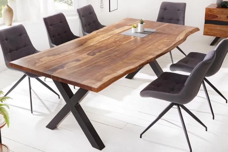 Stílusos étkezőasztal Argentinas X 180 cm sheesham