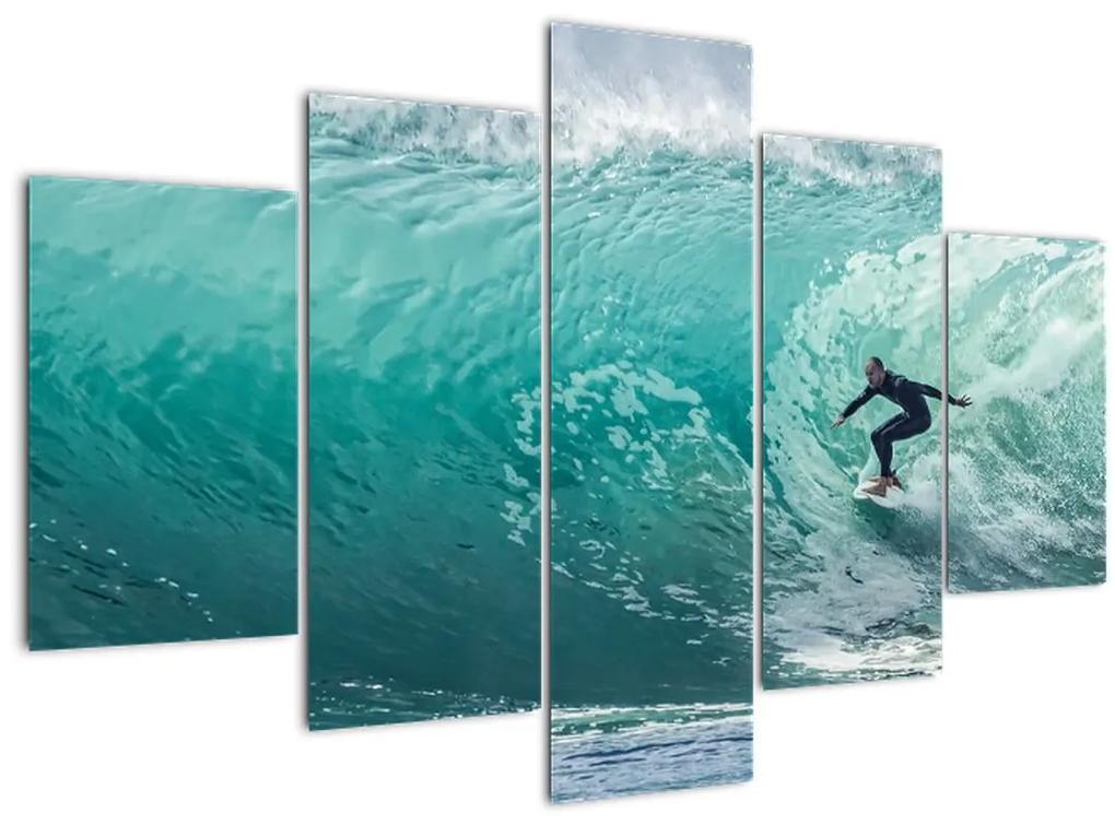 Szörfözés képe (150x105 cm)