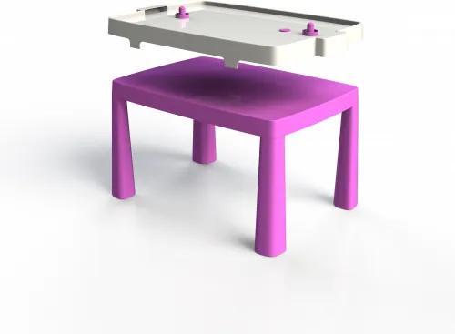 Inlea4Fun EMMA Műanyag gyerekaszal léghokival - Rózsaszín
