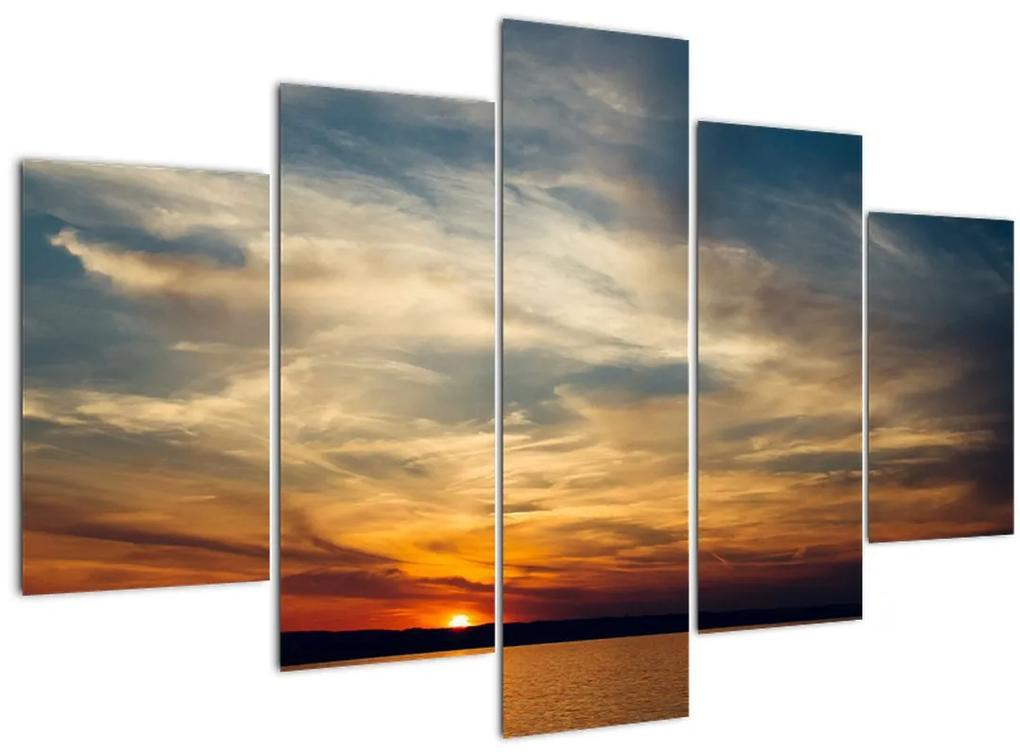 Naplemente képe (150x105 cm)