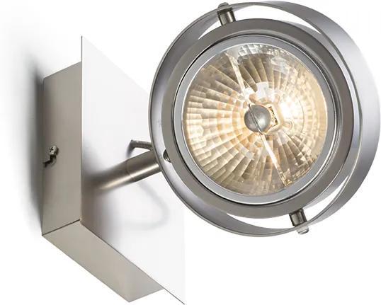 RENDL R10591 CASSIE spot lámpa, forgatható matt nikkel