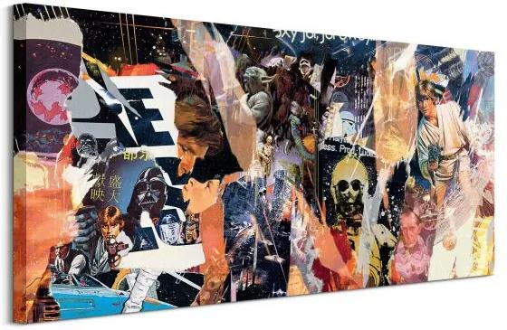Vászonkép Star Wars (Ripped) McCarthy Lee 100x50cm WDC93160