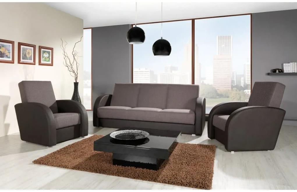 RUBICON II ágyazható ülőgarnitúra, 85x77x90 cm