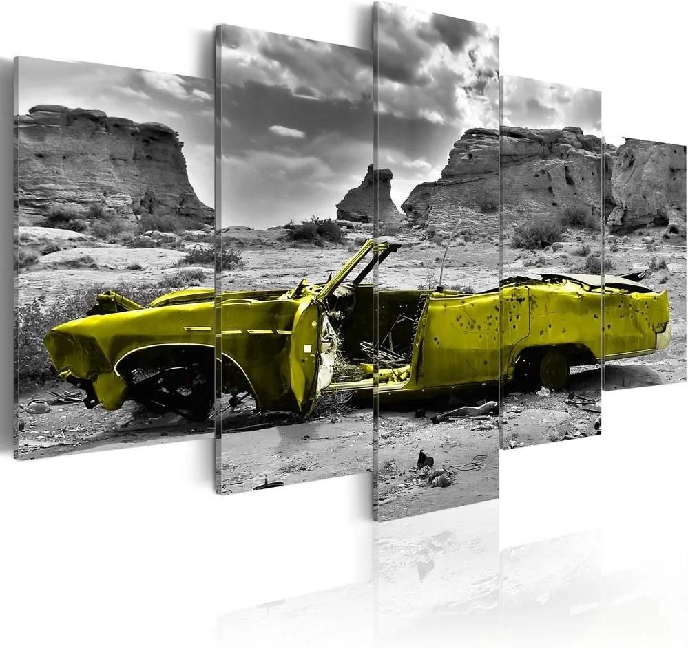 Kép - Yellow car