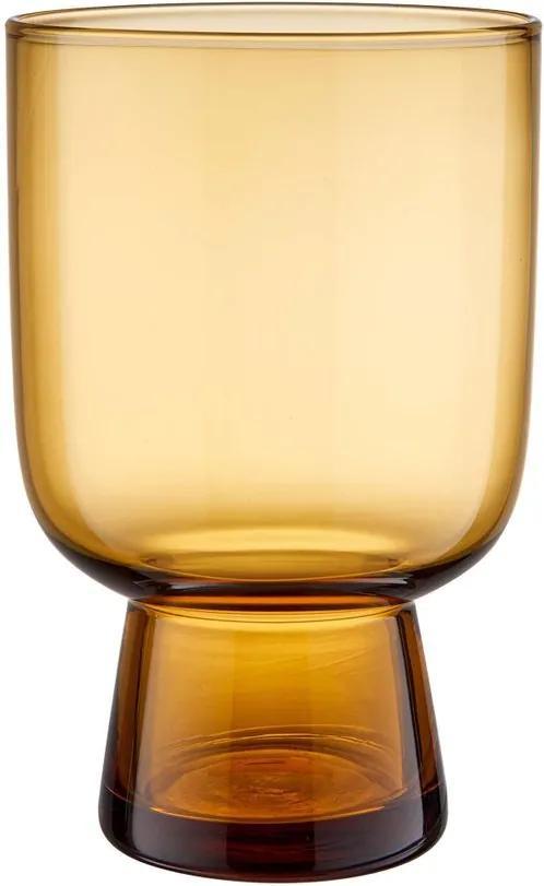SOMBRE üvegpohár, sárga 285ml