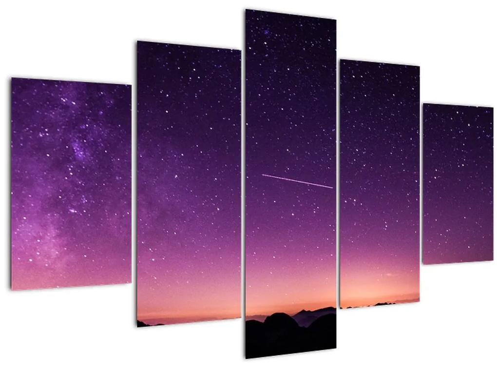 Ég képe hullócsillagokkal (150x105 cm)