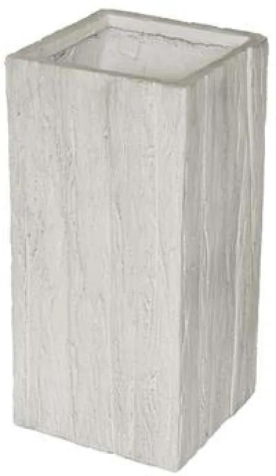 G21 Fossil Tube virágcserép 26x26x60cm - (6392661)
