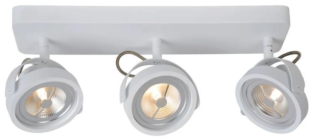Lucide Lucide 31930/36/31 - LED spotlámpa TALA LED 3xG53/12W/230V/12V fehér LC1813