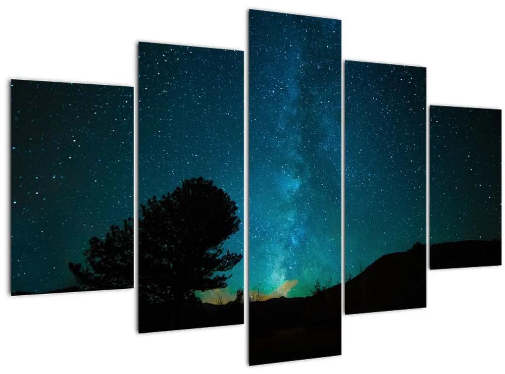 Egy éjszakai égbolt csillagokkal (150x105 cm)