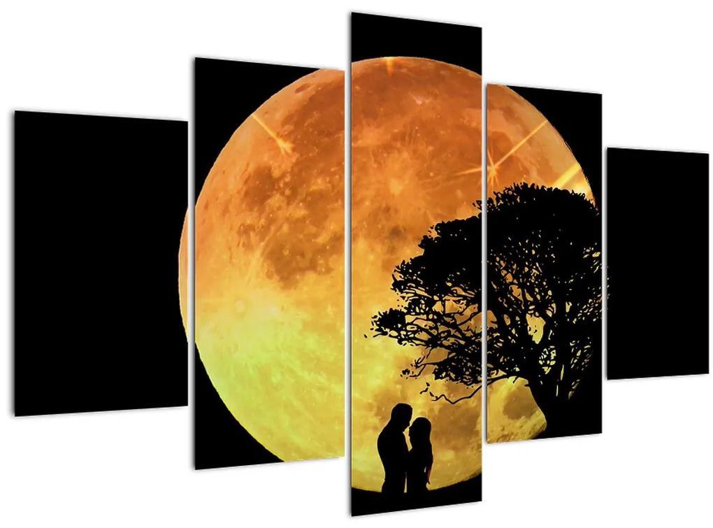 Árnyékok a holdfényben képe (150x105 cm)