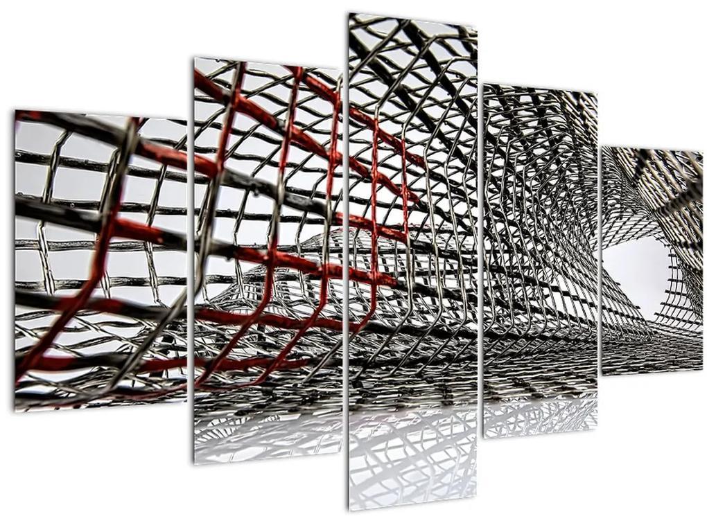 Egy vasszerkezet képe (150x105 cm)