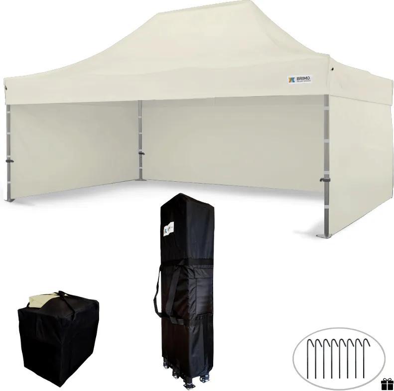 Bemutató sátor 4x6m - Bézs