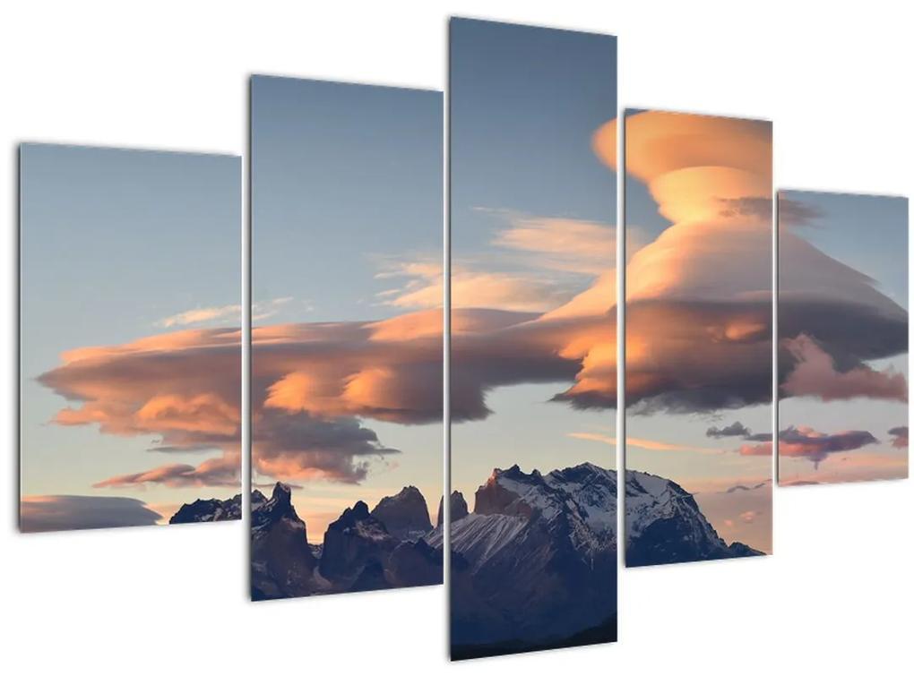Kép - Varázslatos ég (150x105 cm)