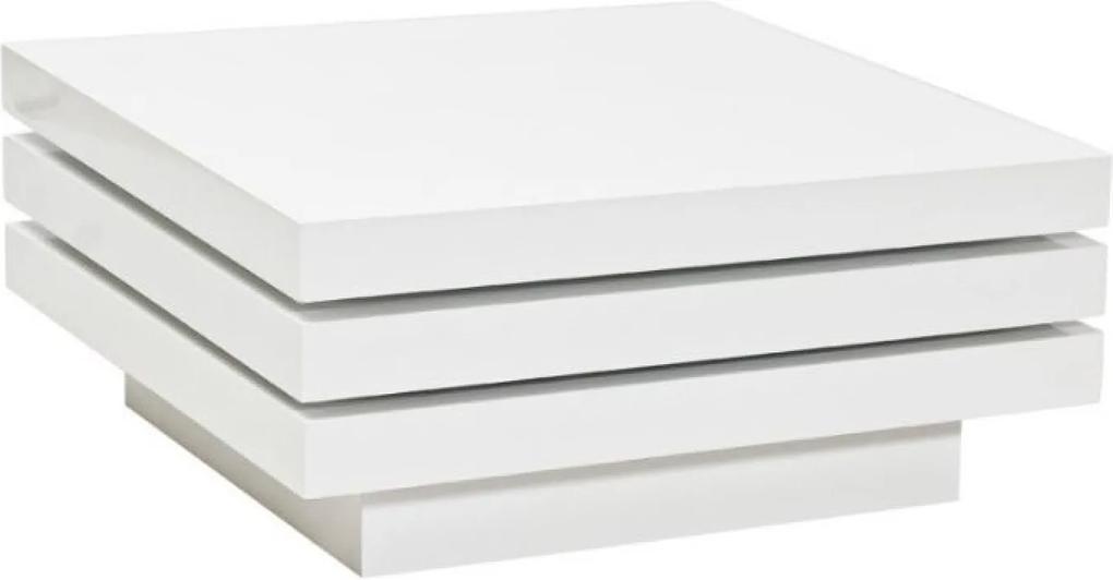 Trista Dohányzóasztal Forgatható Fehér