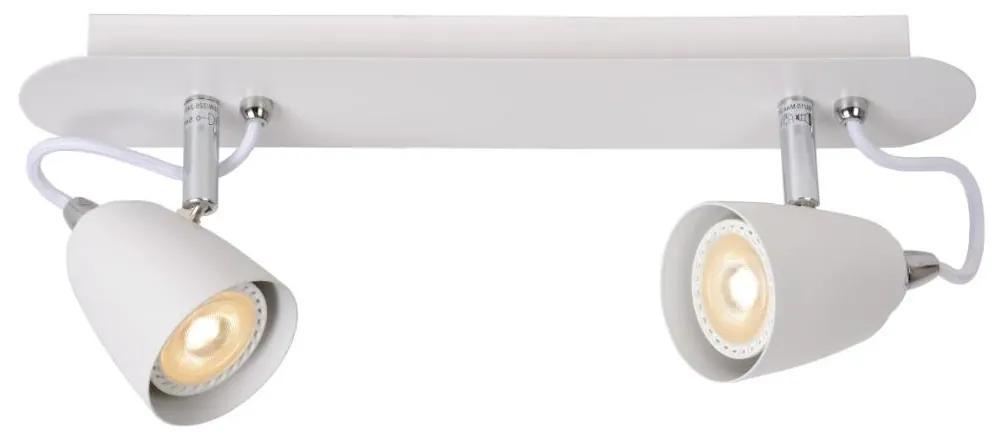 Lucide Lucide 26956/10/31 - LED spotlámpa RIDE-LED 2xGU10/5W/230V fehér LC1547