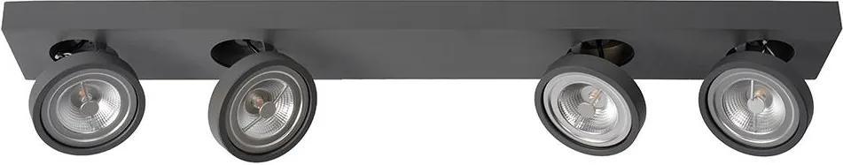 Lucide Lucide 09920/40/36 - LED Dimmelhető spotlámpa NENAD AR111 4xG53/10W/230V LC2442