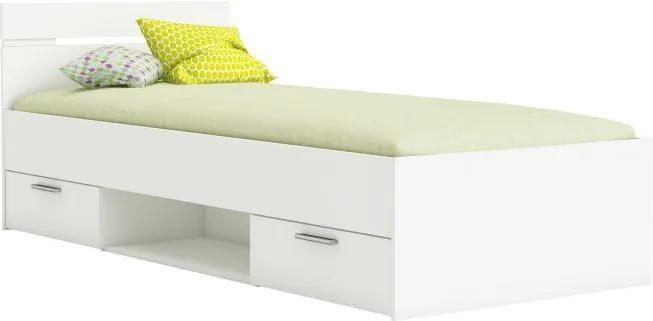 Michal ágy 90x200 fehér