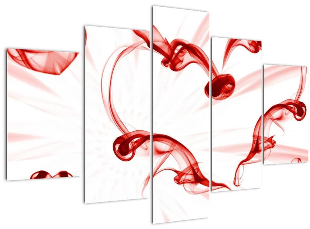Szív a füstből képe (150x105 cm)