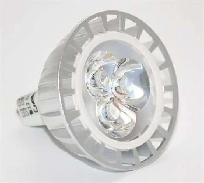G21 LED izzó, G5.3/MR16 3SMD, 12V, 3W, 300lm, melegfehér - (703699)