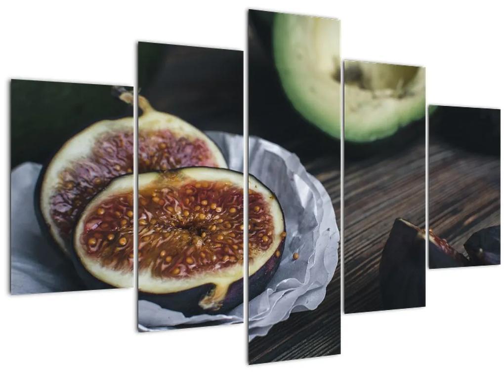 Füge és avokádó képe (150x105 cm)