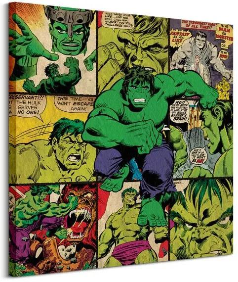 Vászonkép Marvel Comics (Hulk) 85x85cm WDC98147