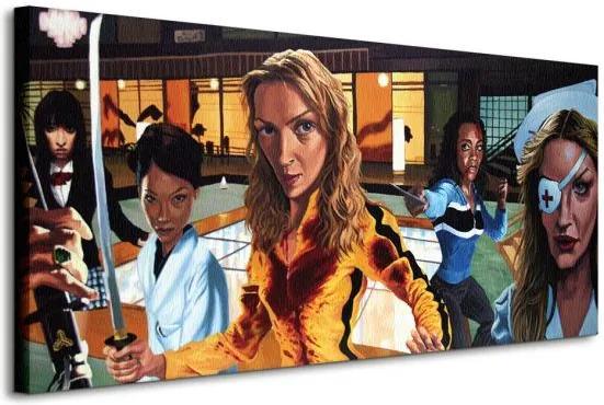 Vászonkép Kill Bill Reed Justin 100x50cm WDC93007