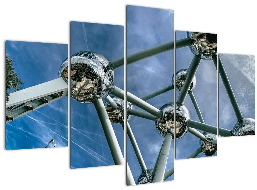 Kép - atomium Brüsszelben (150x105 cm)