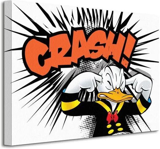 Vászonkép Disney Donald Duck (Crash) 40x30cm WDC92284