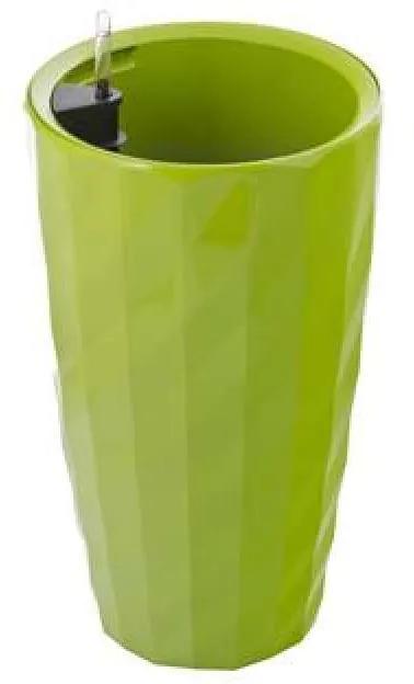 G21 Diamant önöntöző kaspó, zöld, 57 cm - (6392532)