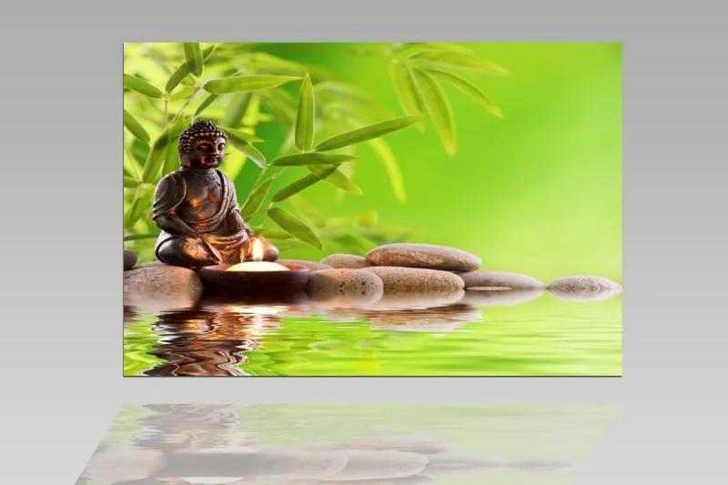 Digital Art vászonkép   1207-S Buddha Tranquility ONE