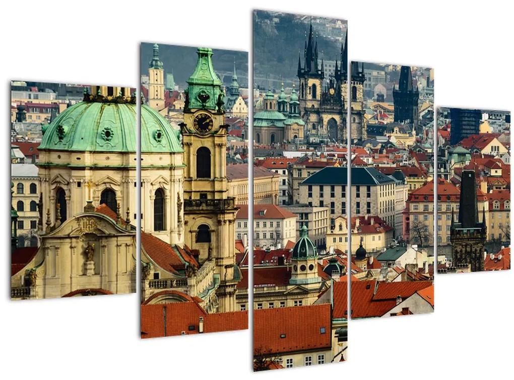 Kép - Prágai panoráma (150x105 cm)