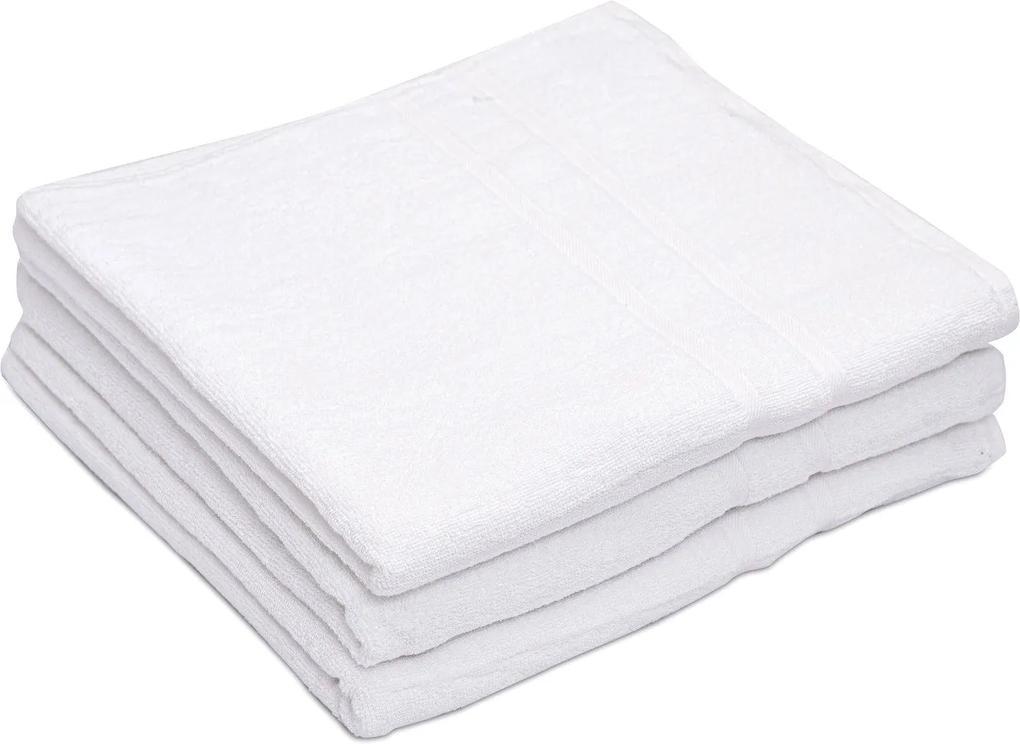 Deluxe fehér szállodai fürdőlepedő