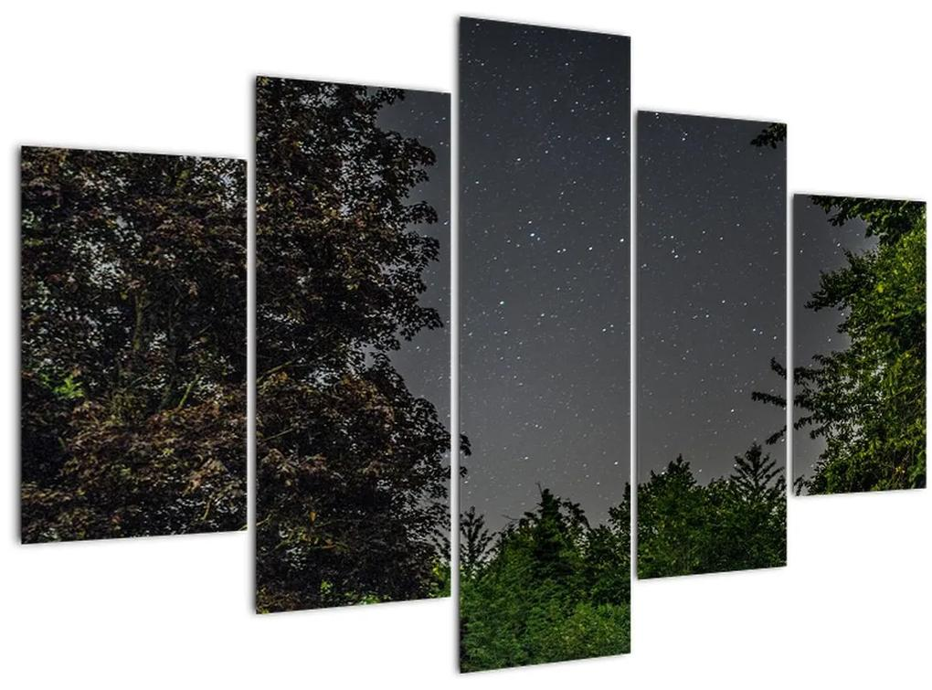 Éjszakai égbolt képe (150x105 cm)