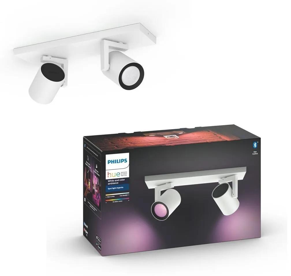 Philips Philips 50622/31/P7 - LED RGB Spotlámpa HUE ARGENA 2xGU10/5,7W/230V P3123