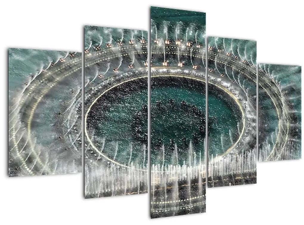 Szökőkút képe (150x105 cm)