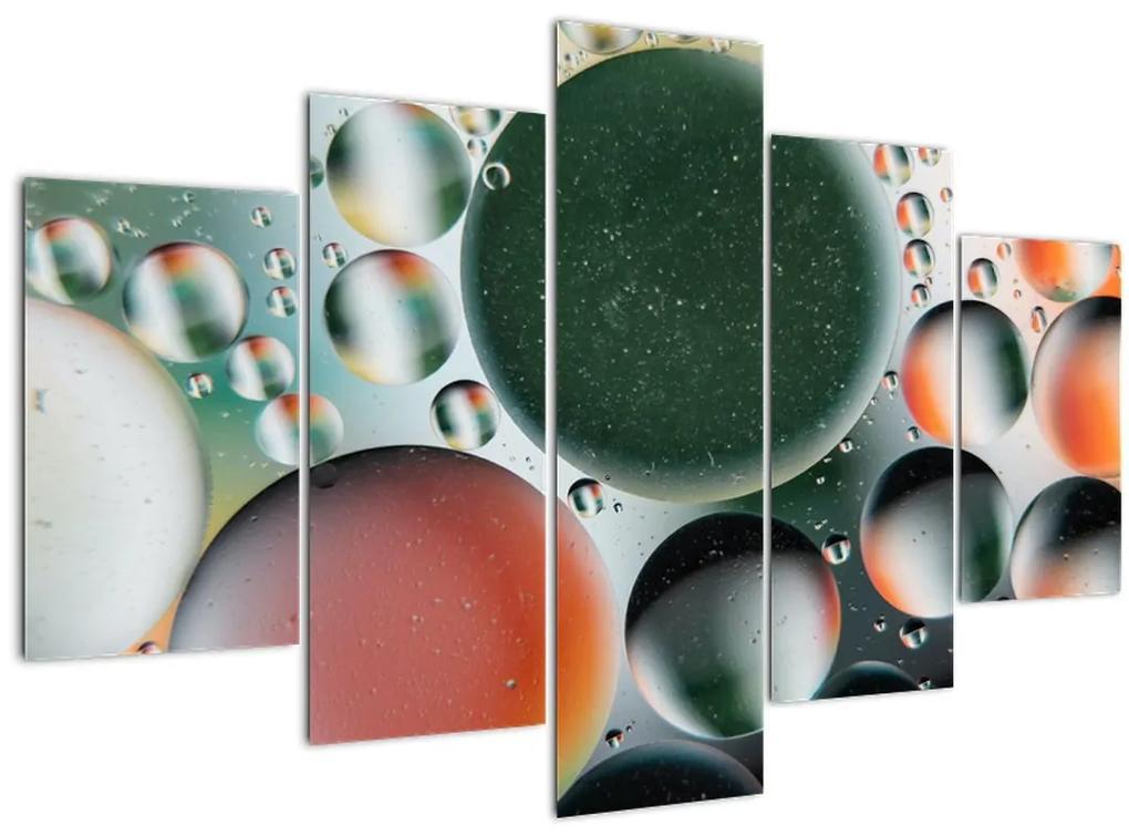 Absztrakt kép - buborékok (150x105 cm)