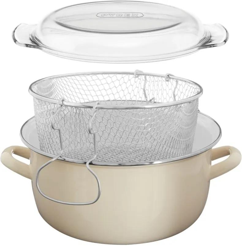 Bézs fritőz, térfogat 5 l - Premier Housewares